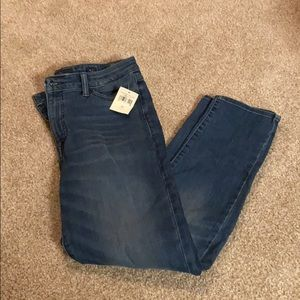 Lucky brand skinny ankle jeans